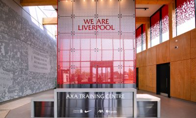 Liverpool's AXA training center