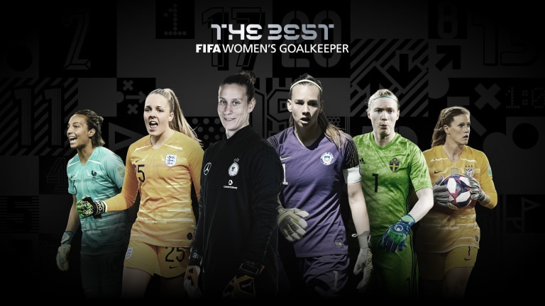 The Best Women's goalkeeper
