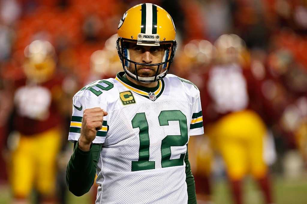 Aaron Rodgers has had more passing touchdowns than any other quarterback this season