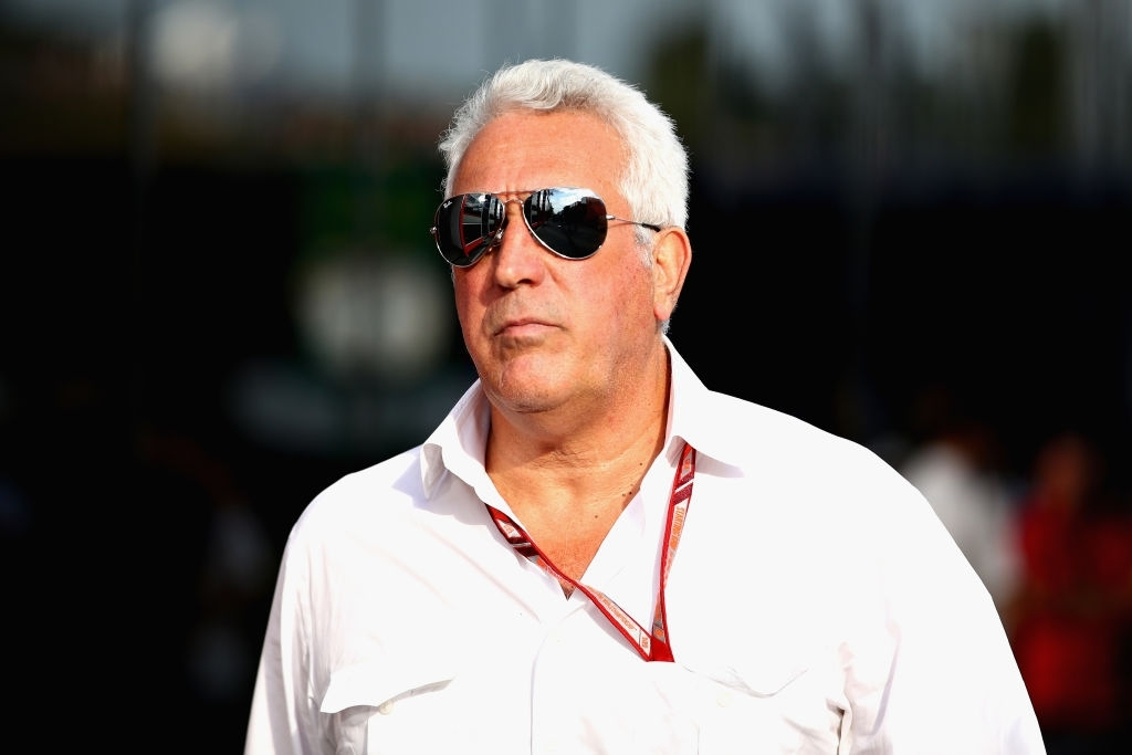 Racing Point f1 team owner Lawrence Stroll.