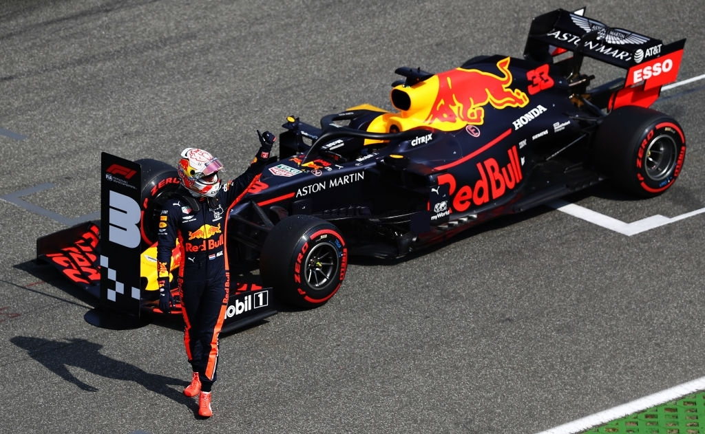 Aston Martin as the sponsor for Red Bull Racing.