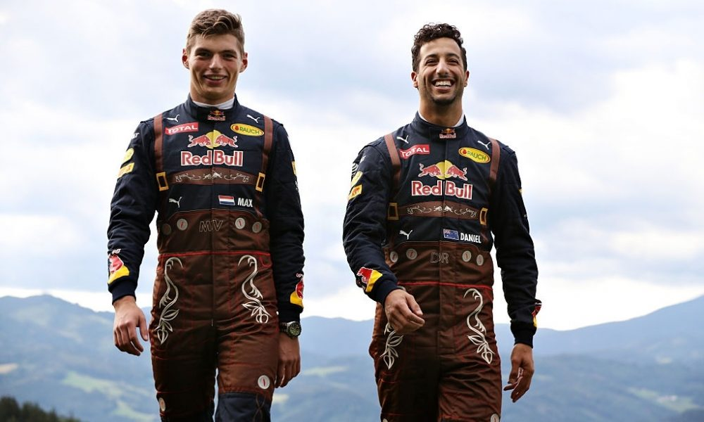 Max Verstappen and Daniel Ricciardo are the successful names from Red Bull's recruitment process.