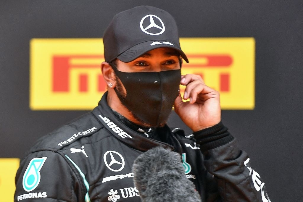 Lewis Hamilton will be driving for Mercedes in 2021.