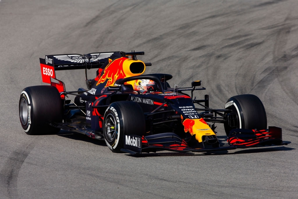Red Bull car with Honda power unit in the 2020 season.