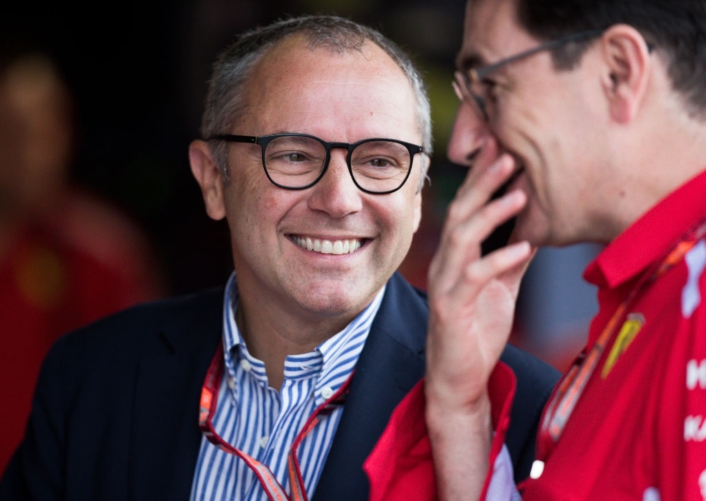 Stefano Domenicali is the new CEO of the Formula 1.