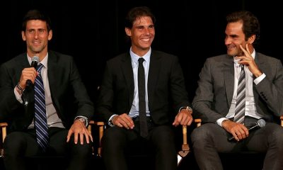 federer, nadal and djokovic