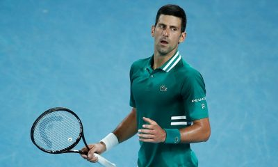 Novak Djokovic moved to the semi-final of the Australian Open 2021.
