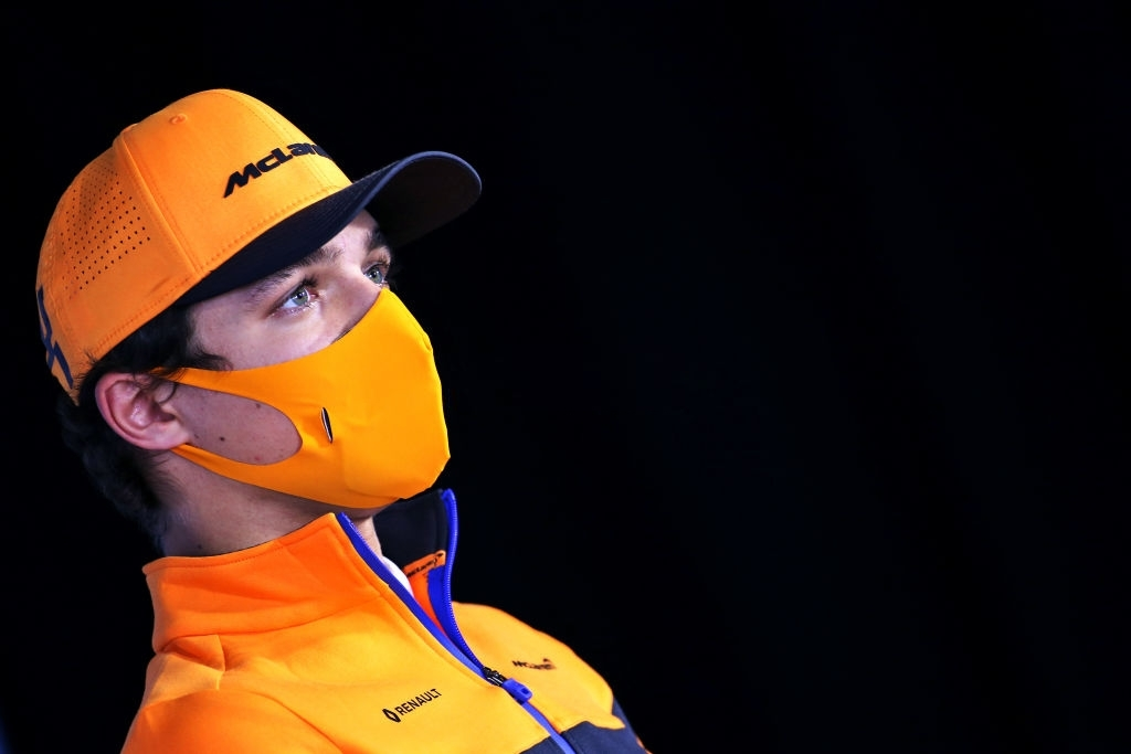 Lando Norris of McLaren F1 after the first day of Emilia Romagna Grand Prix claims it was a hectic day for him and the team.