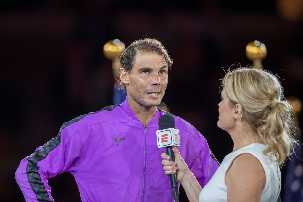 Rafael Nadal of Spain predicts the young Carlos Alcarez will be at the top in the future.