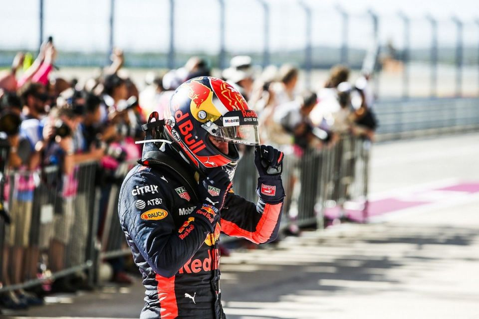 Connelly penalize Max Verstappen in 2017 US Grand Prix.