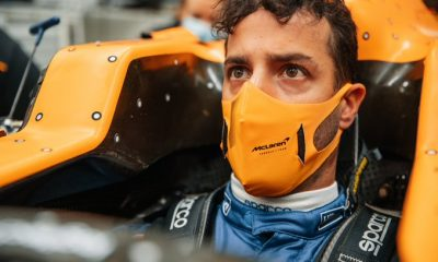 Daniel Ricciardo is driving for McLaren in 2021.