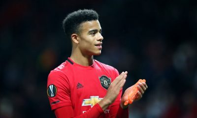 Mason Greenwood wants to be the striker for Manchester United.