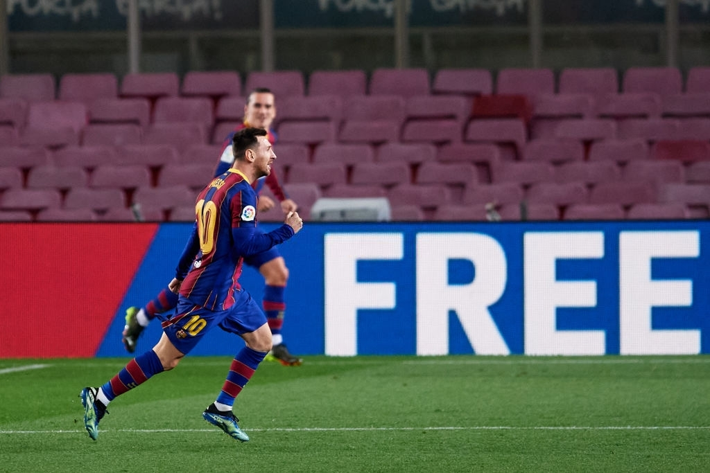 G.O.A.T Lionel Messi Scored his 650th Goal for Barcelona