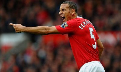 Rio Ferdinand playing agaits Man city