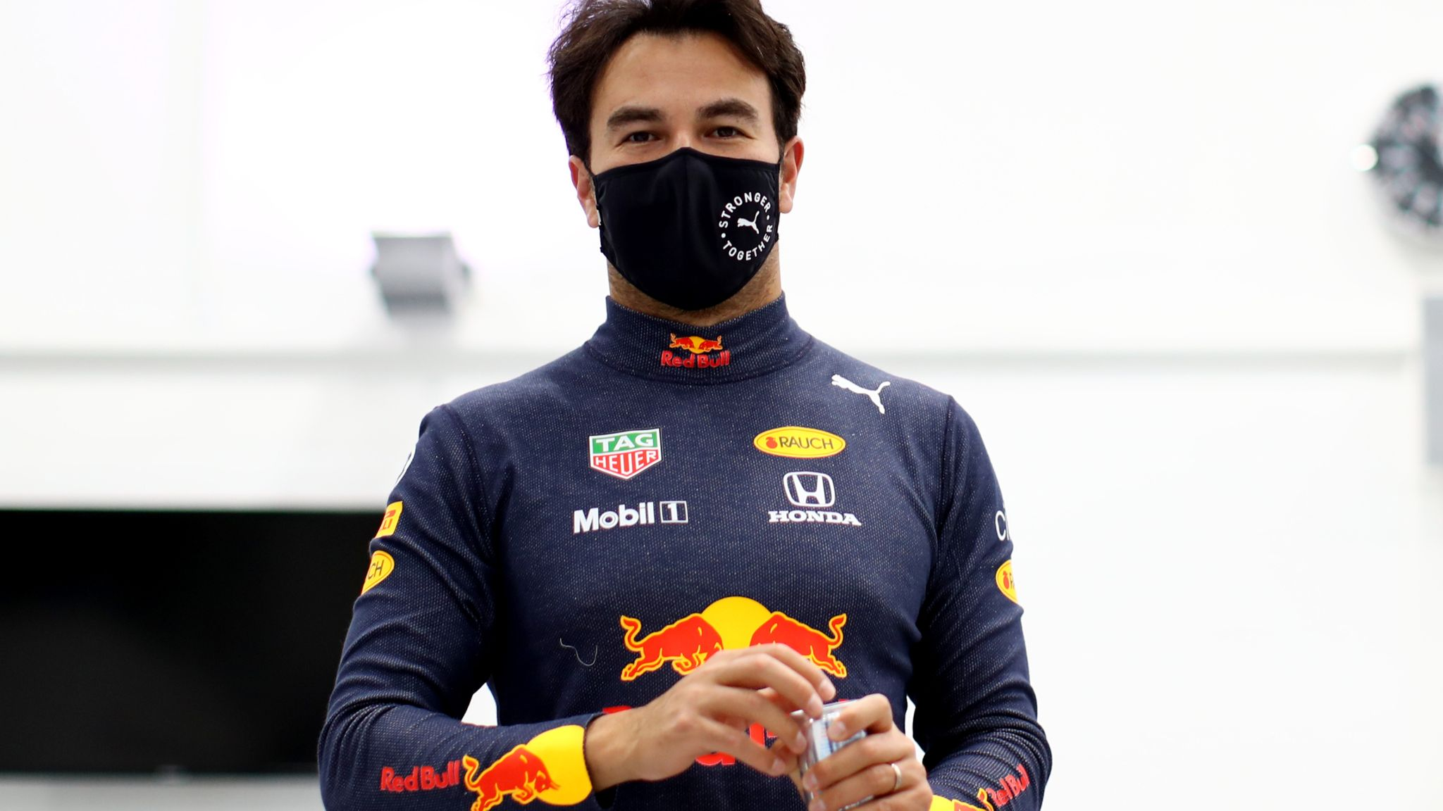 Sergio Perez joined in Red Bull