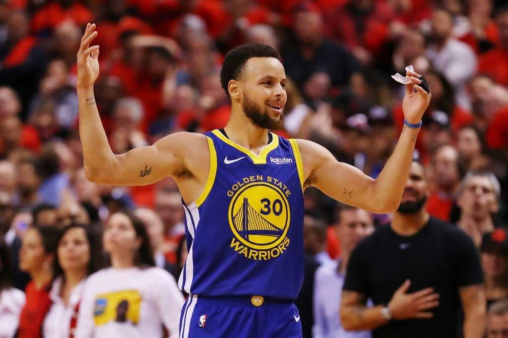 Steph Curry scored 57 points.
