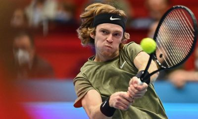Andrey Rublev moved to the finals of ATP 500 Rotterdam 2021 tour.
