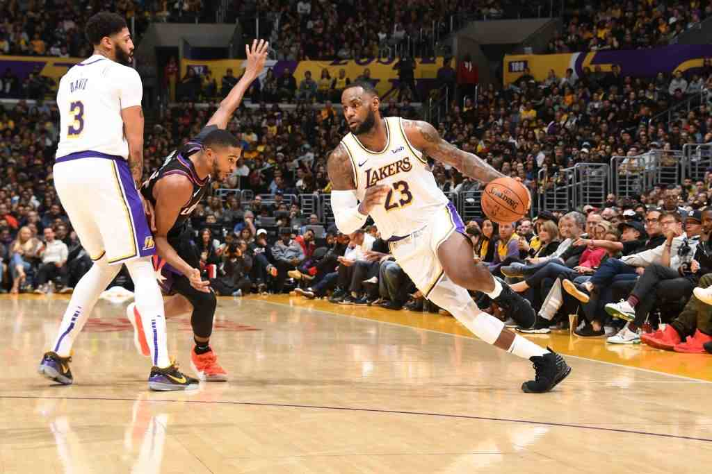 Phoenix Suns and Lakers