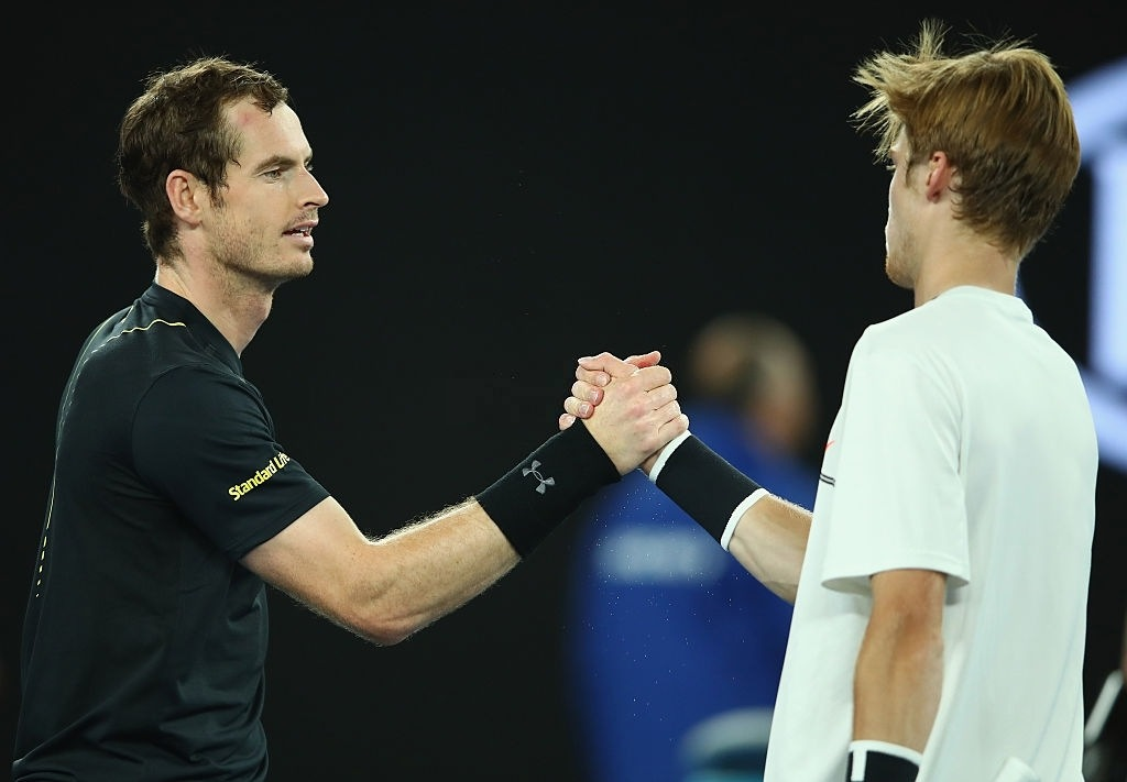 Andy Murray's fellow tennis players always respect the Briton on and off the court.