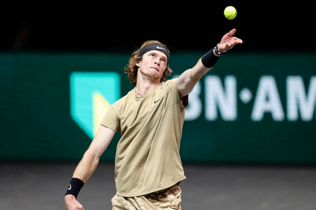 Andrey Rublev will face Marton Fucsovivs in the ATP Rotterdam finals on 7 March 2021.