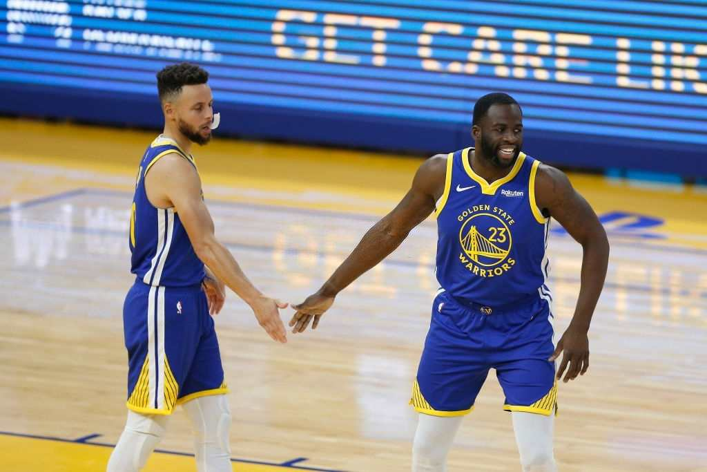 Draymond Green talks about Steph Curry performance this season