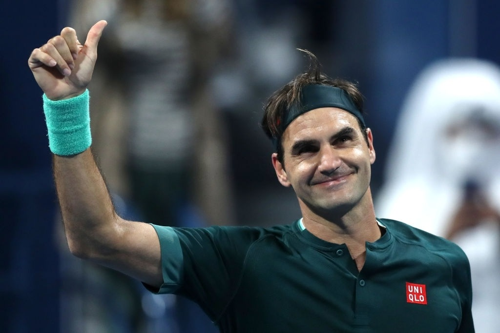 Roger Federer defeated Dan Evans in Qatar Open.