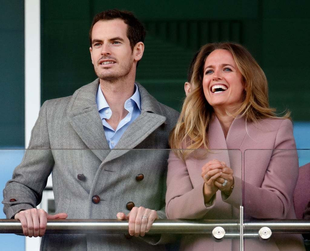 Andy Murray is spending most of his time with his wife Kim Sears and his children.