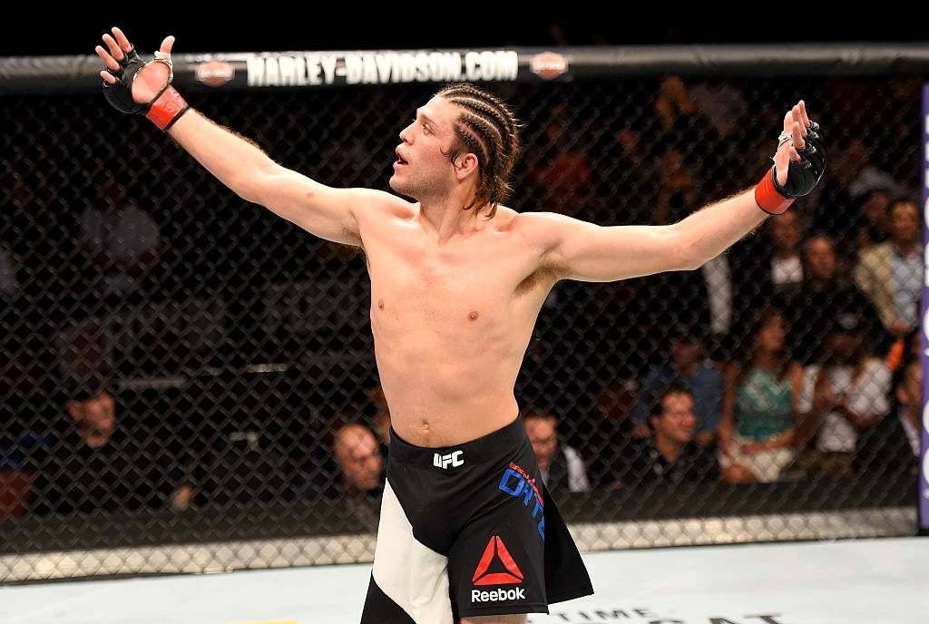 Brian Ortega- UFC fighter