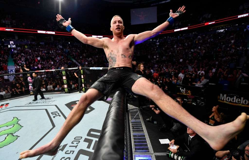 Justin Gaethje talks about his journey in the UFC.