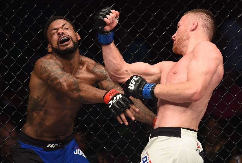 Justin Gaethje talks about his experience.