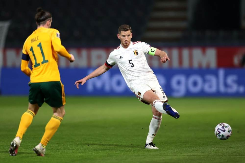 Wales taking on Belgium in World Cup Qualifier