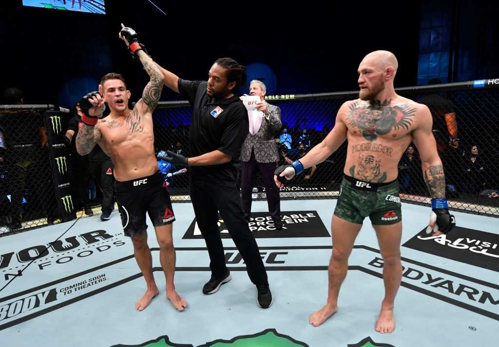 Conor Mcgregor is working on Dustin poirier trilogy