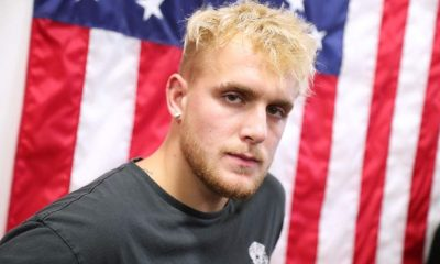 Jake Paul attends Logan Paul Workout Showcase at Wild Card Boxing Club