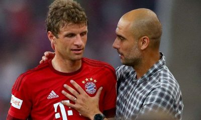 Thomas Muller recalls his days in Bayern Munich when Pep Guardiola was the manager.