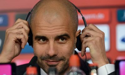 Pep Guardiola took over Bayern Munich from Jupp Heynckes in 2013.