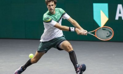 Andy Murray won his firstr match in ATP Rotterdam 2021.