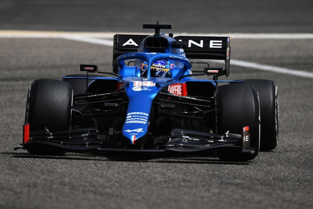 Fernando Alonso performed extremely well in the 2021 Bahrain per-season testing with the Alpine A521.