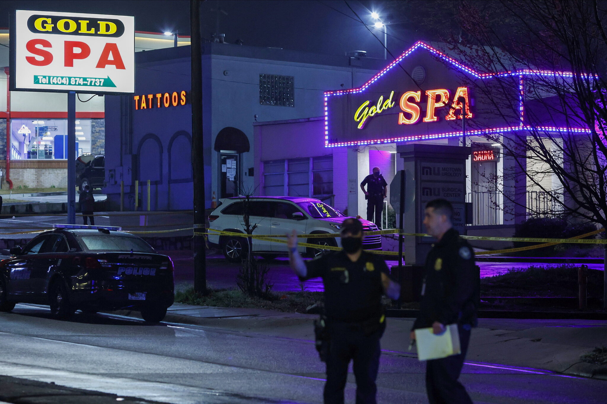 Atlanta Spa Shooting