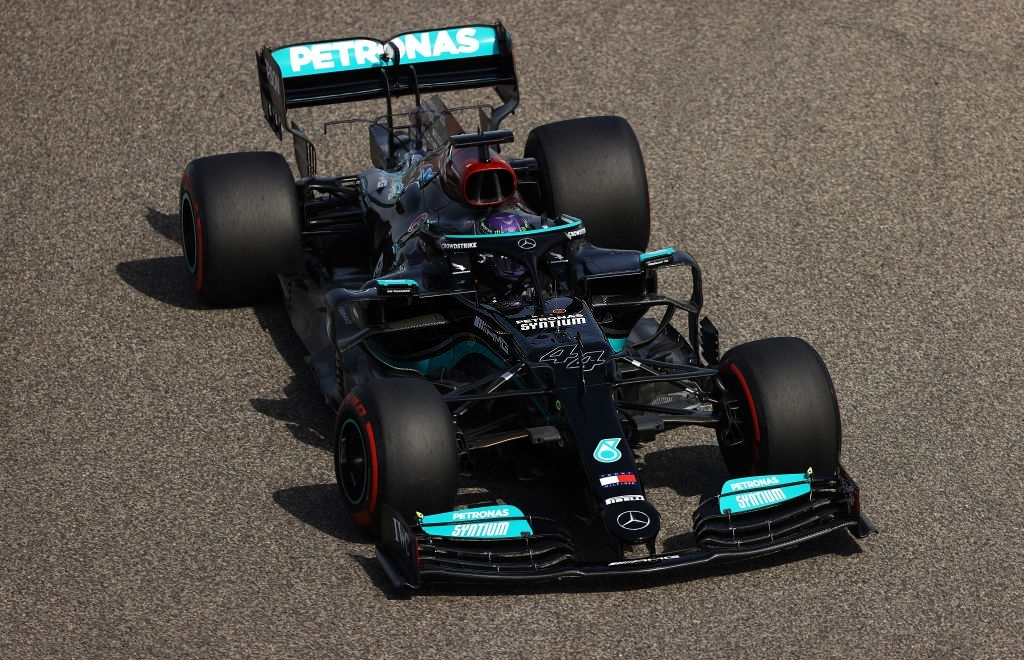Lewis Hamilton finished fourth in the FP1 of the 2021 Bahrain GP.
