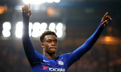 Callum Hudson-Odoi speaks up against racism and online abuse in football.