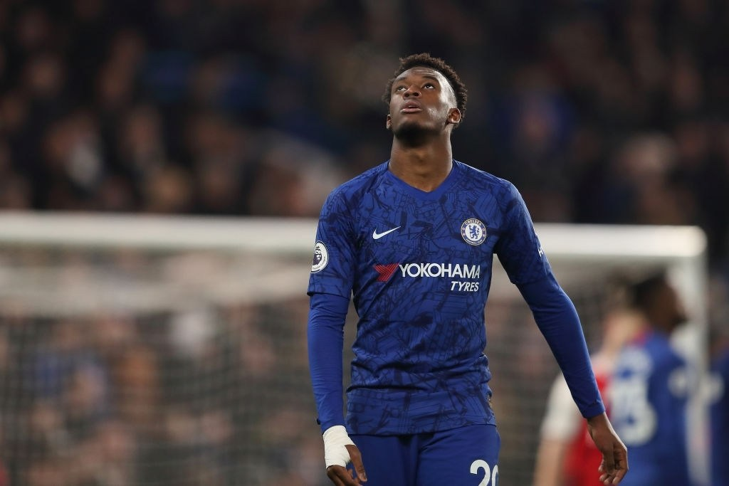 Young Chelsea winger Callum Hudson-Odoi speaks up against racism and online abuse in football.