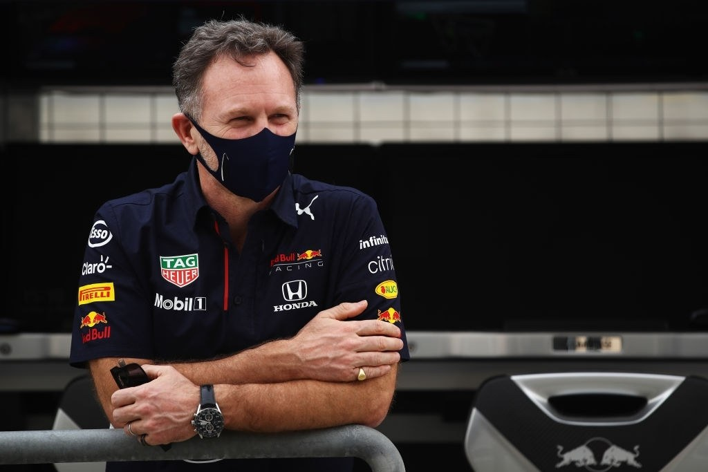 Red Bull team boss Christian Horner.