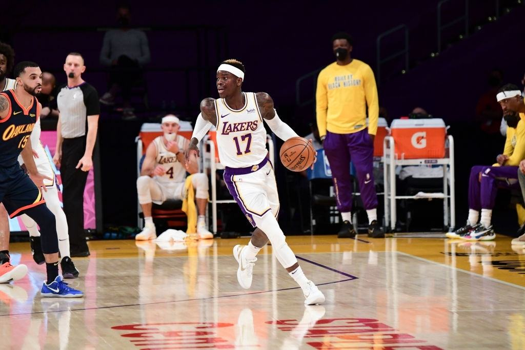Dennis Schroder has been influential for the Lakers this season.