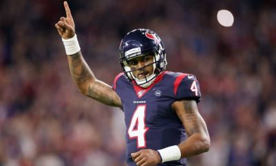 Deshaun Watson is reportedly at the top of the signing list for the Washington Football team.