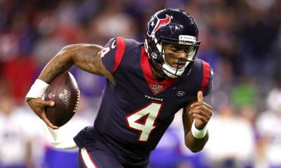 Deshaun Watson of the Houston Texans is a quarterback targeted by many sides including the Washington Football Team