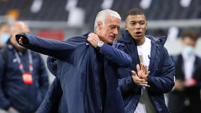 Didier Deschamps feels dissapointed after a draw against Ukraine in the opening match of the World cup qualifiers