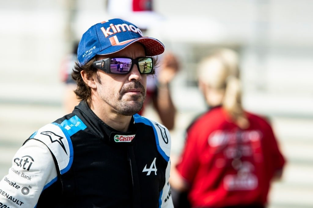 Fernando Alonso is positive for the upcoming race inImole and further was found cycling.