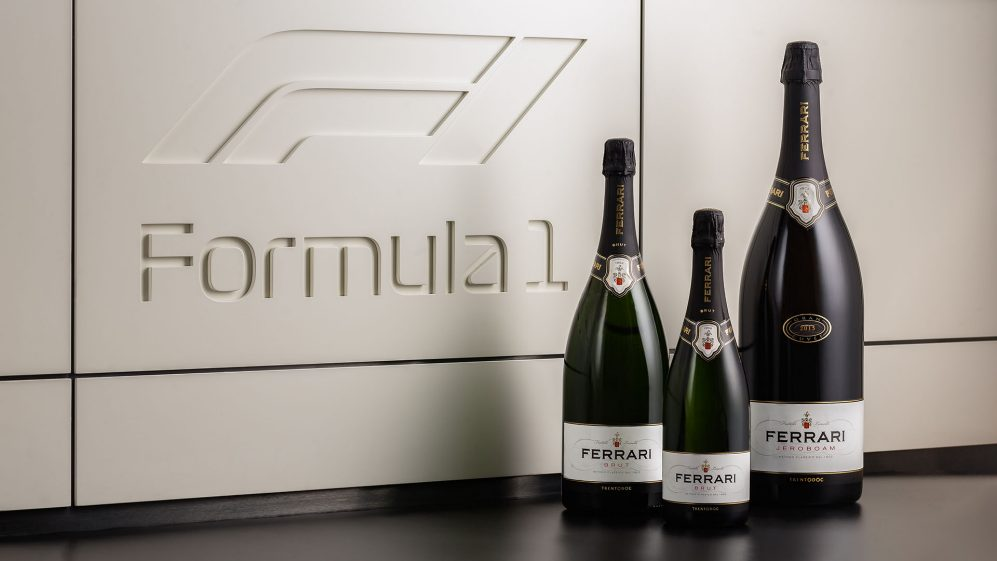 Ferrari Trento is the official toast for Formula 1 2021.