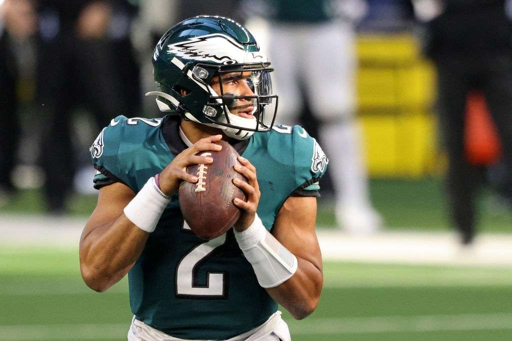 Jalen Hurts will reportedly be the only quarterback in Jeffrey Lurie's side.