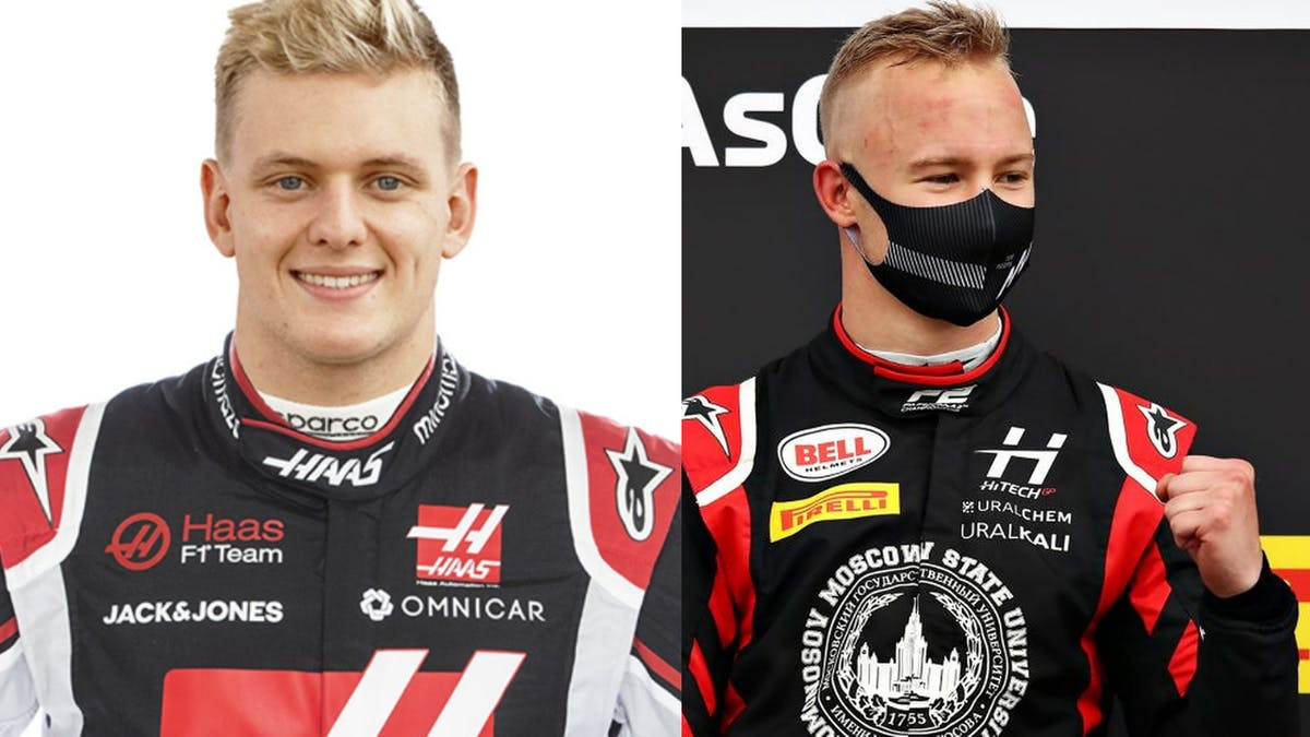 Mick Schumacher and Nikita Mazepin are driving for Haas F1 team in the 2021 Formula One.